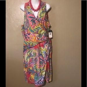 Ralph Lauren beautiful dress size 18, polyester